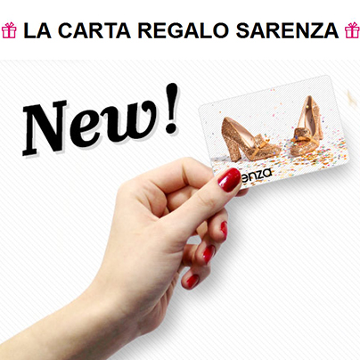 Gift Card Sarenza