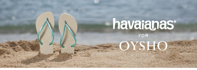 Havaianas for Oysho Spring Summer 2013
