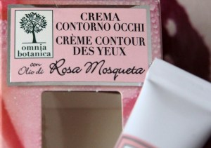 Crema Contorno Occhi Rosa Mosqueta - Omnia Botanica