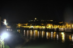 Adige by Night, Verona