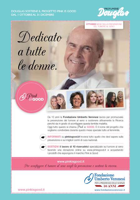 cartelli informativi douglas pink is good