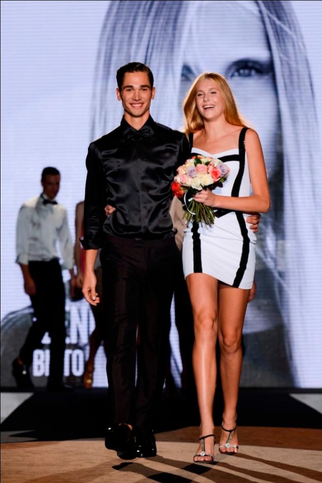 Ilenia Biato e Norman Funk vincitori Elite Model Look Italia 2013_Ph. Eugenio Marongiu per Diggy Style