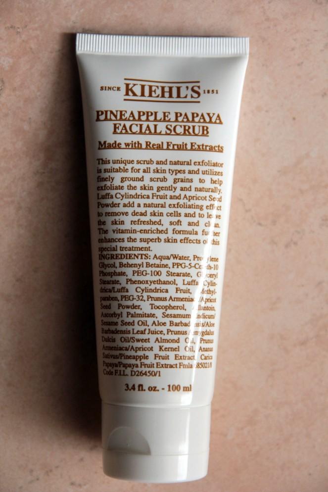 scrub viso delicato, Kiehl's,
