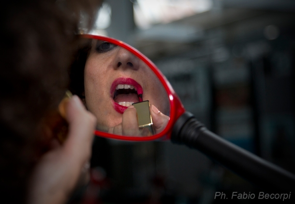 Una pinup al Museo Piaggio: il #fashionblogtour all'Istituto Modartech di Pontedera (PI) (2° parte)