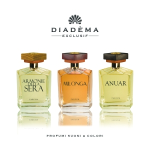 Diadèma, cosmetici e profumi dalla provincia con ORGOGLIO e con AMORE
